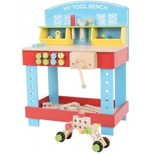Banco da Lavoro Giocattolo in Legno Bambini