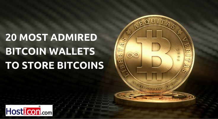 Look at The Most Admired 20 Bitcoin Wallets to Store Bitcoins  #Bitcoin #BitcoinWallet #WebHostingService #HostIcon