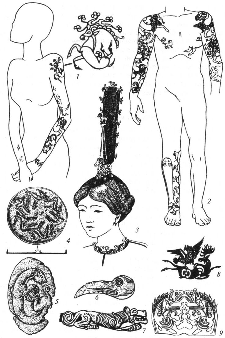 ancient mummy tattoos - Google Search