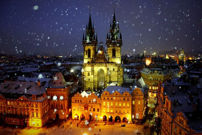 Отличный вариант продлить себе праздники. Тур в Прагу на три ночи от 12500 на человека. Удобное время вылета из Москвы