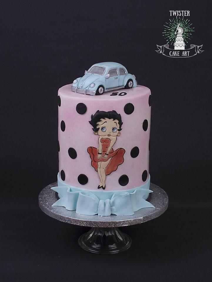 Betty boop kakku, cake