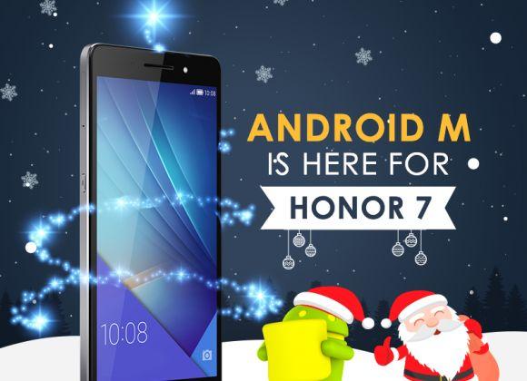 Huawei выпустил бета-обновление до Android 6.0 Marshmallow для Honor 7 | USBmaster.ru