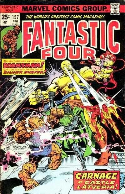 Fantastic Four # 157 by Rich Buckler & Joe Sinnott