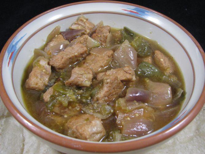 bobby flay green pork chili