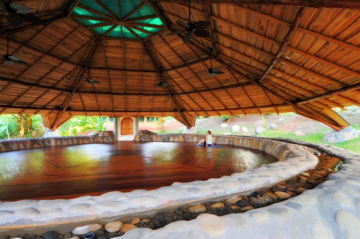 Yoga at Espiritu Salvaje Center in Uvita, Costa Rica