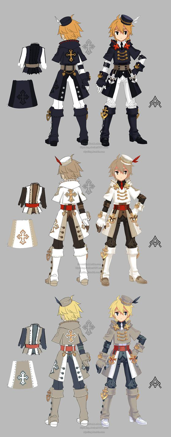 Dragon nest priest warrior by ZiyoLing on DeviantArt
