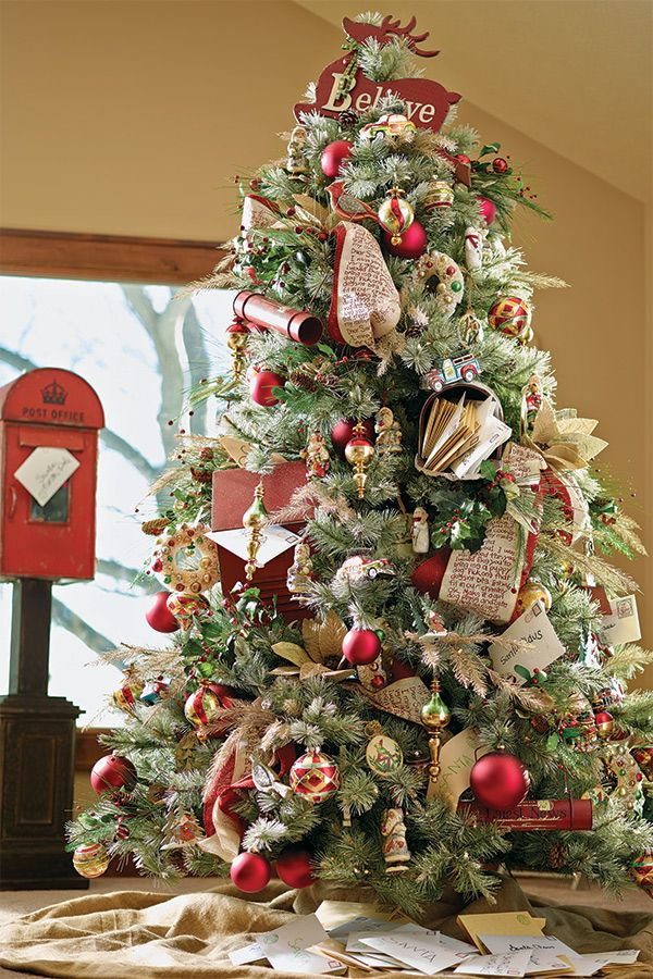 32 best Christmas Trees: Santa images on Pinterest | Xmas trees ...