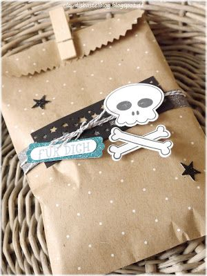 Ein Goodie für die Gäste der Piraten Party