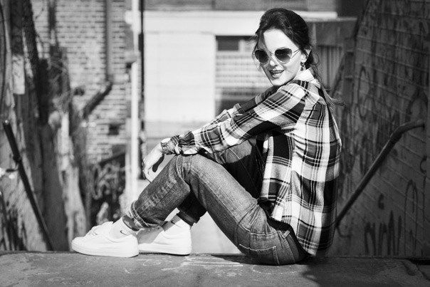 Street fashion фотосессия в Лондоне