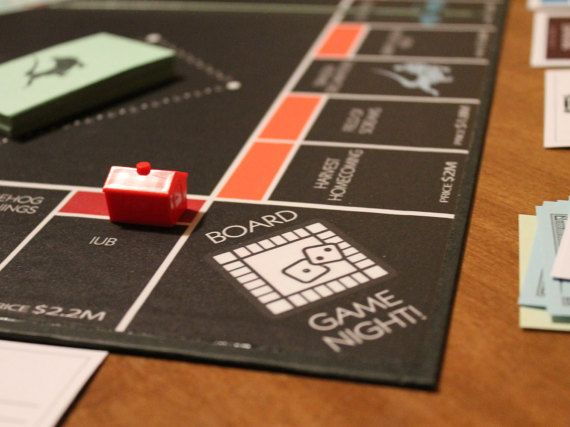 Custom Monopoly Board Game by CustomMadeKitsch on Etsy