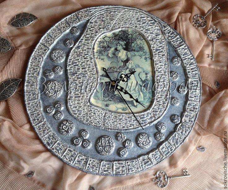 Купить Часы настенные Романтические мечты - часы настенные, часы интерьерные, часы для дома
