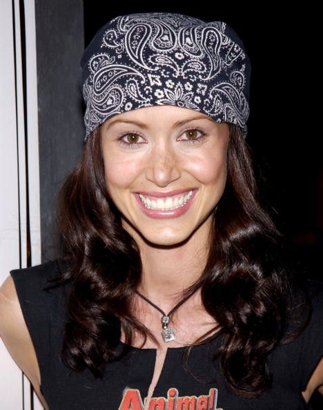 Shannon Elizabeth, bandanna, bandana