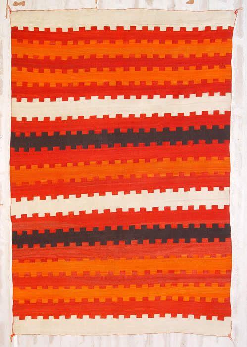 ght 1056 : Navajo Transitional Blanket : Historic Native American Textile - Nizhoni Ranch Gallery