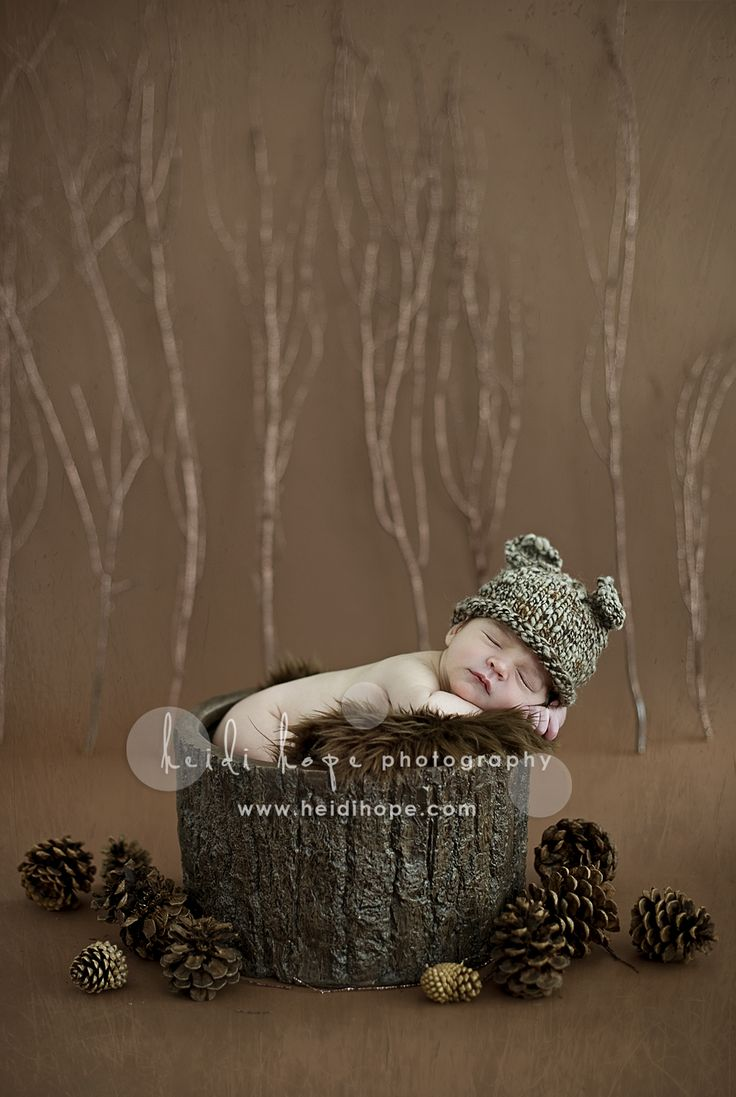 Fall shoot - I'm worried the baby looks a little sick with the cool light....but love the set up!