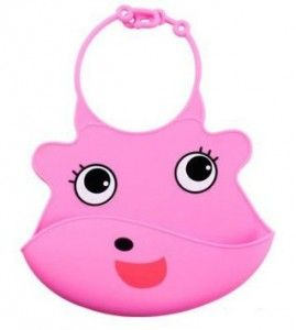 Pink. Silicone Baby Bips. 98k