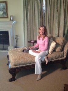 Vanna White At Home Vanna White Chaise Lounge Home