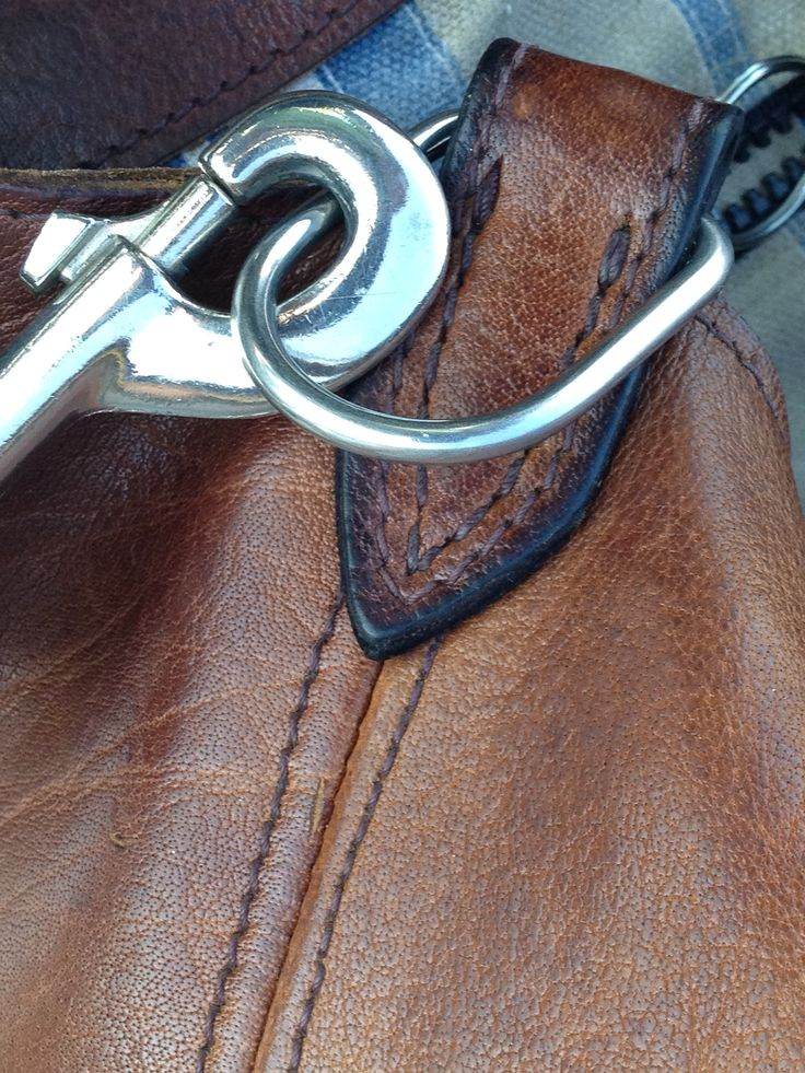Chunky Snap Hook detail on the Tote Clan Rattray Bag Co. est 2012
