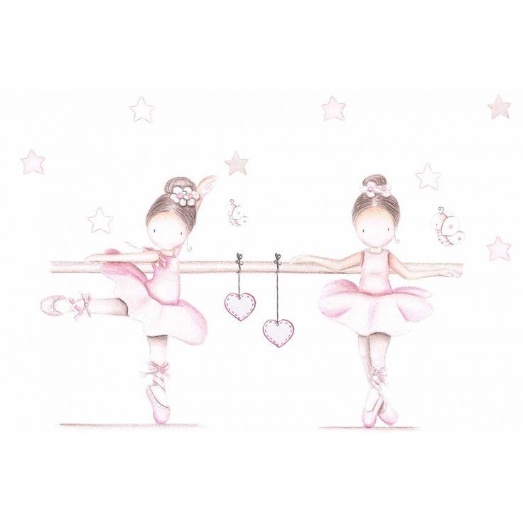 M s de 25 ideas incre bles sobre dibujo de bailarina en for Murales y vinilos infantiles