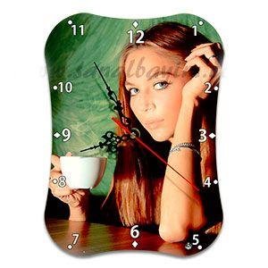Akrostiş (İsme Özel) Şiir HDF Masaüstü Saat (19X26 cm) - Doğum Günü Hediyeleri | Nice Yaşlara