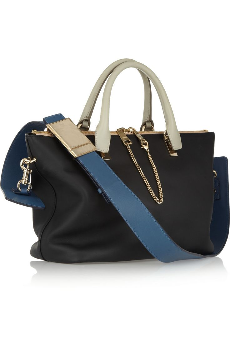 CHLO¨¦ Baylee small leather tote Chlo¨¦\u0026#39;s \u0026#39;Baylee\u0026#39; tote was ...