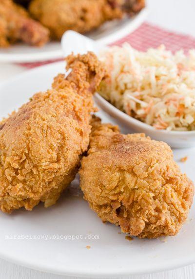 Smażony kurczak w południowym stylu
