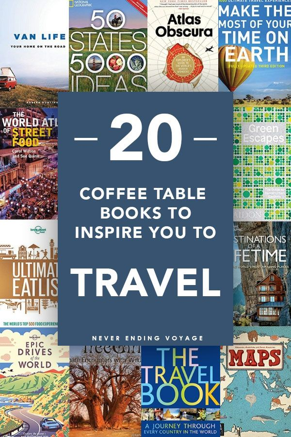 20 Best Coffee Table Travel Books To Inspire Wanderlust Global