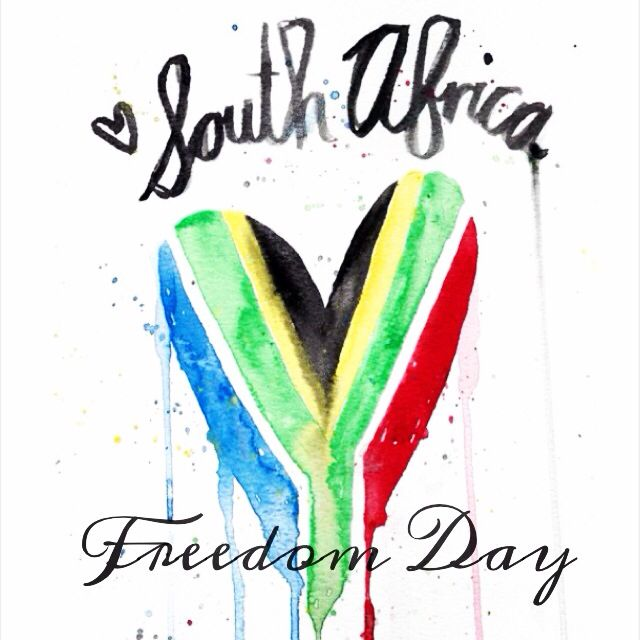 Today is Freedom Day in South Africa! 20 years free... Here's to the next 20 years with the focus on equality ❤️