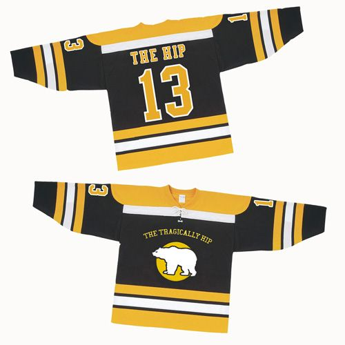 The Tragically Hip 2013 Hockey Jersey- HELL YEAH!