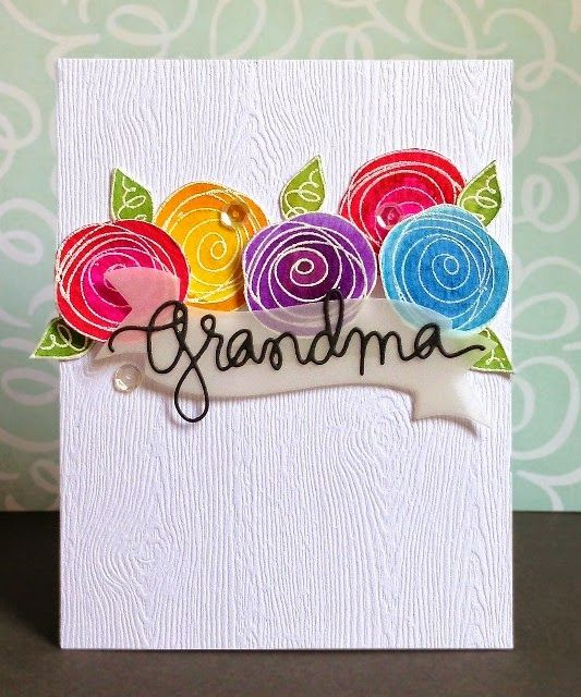 Sharp Designs: CTS #85 For Grandma