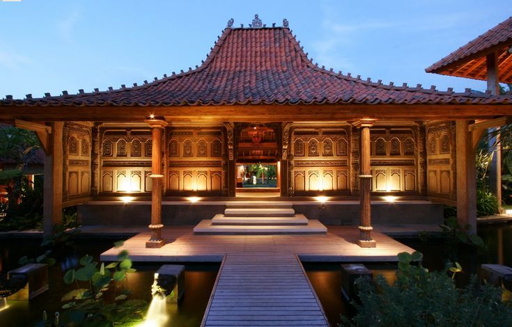 Concept exterior design Joglo House