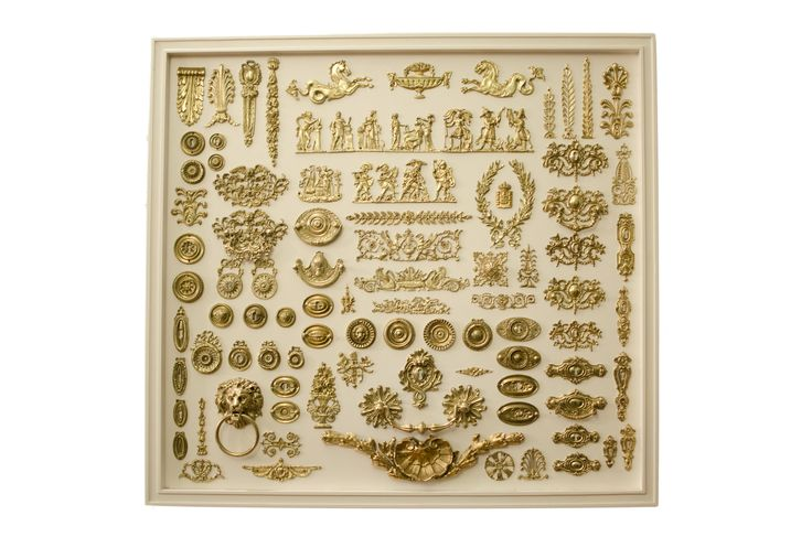 Gold plated products from Casa Achilles in Board 1