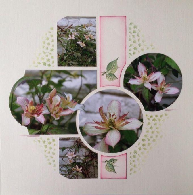 Une fLeur parmi les fleurs | Azza - Leader du scrapbooking