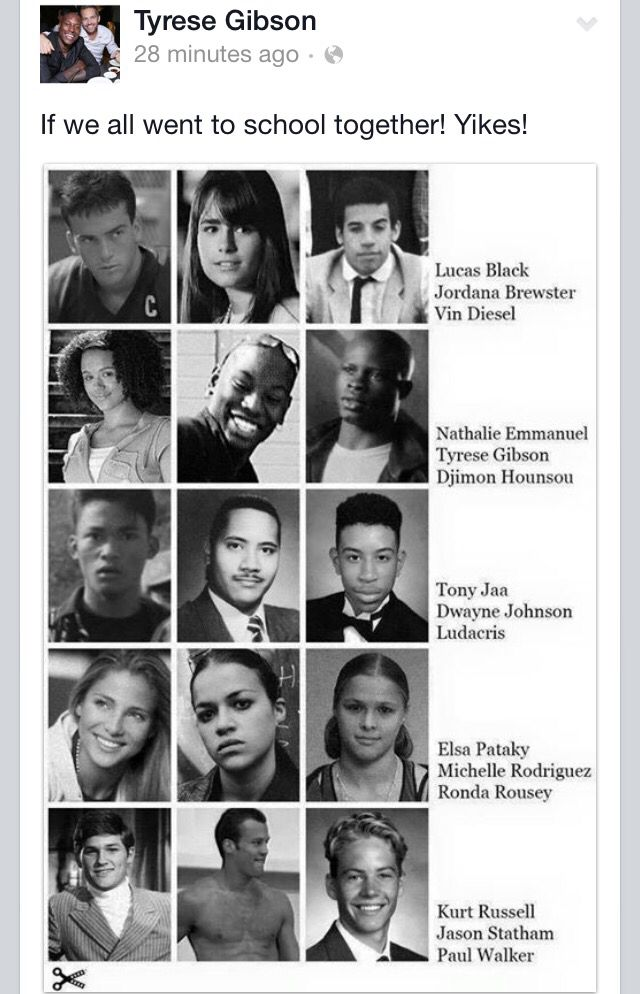 The cast fast and furious