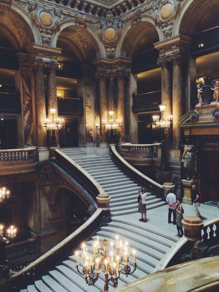 Palais Garnier-Paris, France.