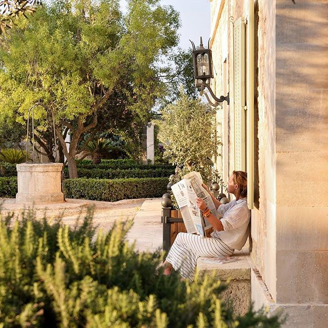 Offline is the new luxury ❤  #calreiet #restore #rejuvenate #reconnect #recharge #wellness #holistic #Mallorca #Santanyi #offline