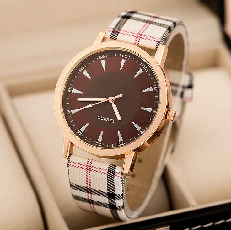 High Quality Leather strap minimalist quartz watch for ladies