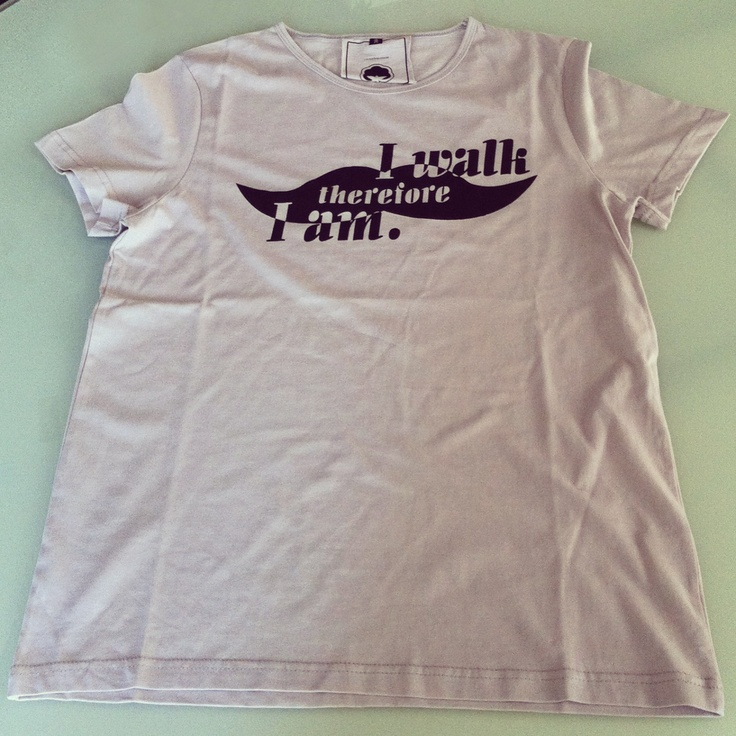 Antoine le Flâneur t-shirt sold at lab::istanbul designshop, karaköy...