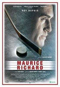 Affiche du film Maurice Richard