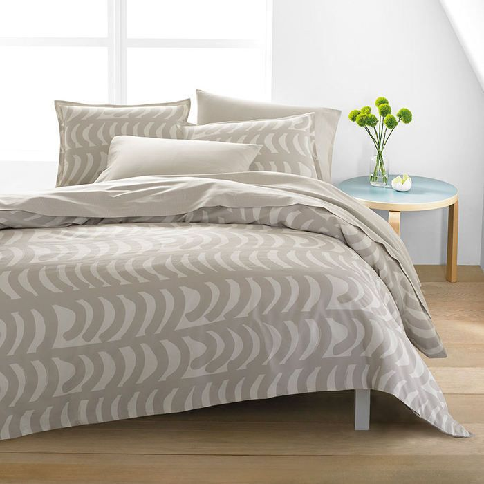 Rautasanky by Marimekko bedding features a modern design in gray tones. The solid gray rautasanky design create a unique and interesting look. Soft cotton materials make for a comfortable sleeping surface. | eBay!
