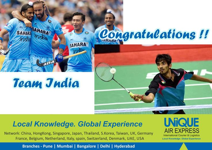Congratulations, Hockey India team & Srikanth Kidambi for the victories in World Hockey league 2017 & BCA Indonesia badminton open 2017 respectively. We Are Proud of You ! #HockeyWorldLeague2017 #IndonesiaOPEN2017