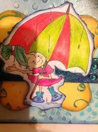 It's raining it's pouring inspiration
