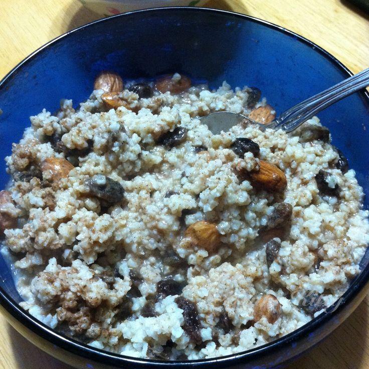 Harvest Millet Breakfast Recipe Vegan