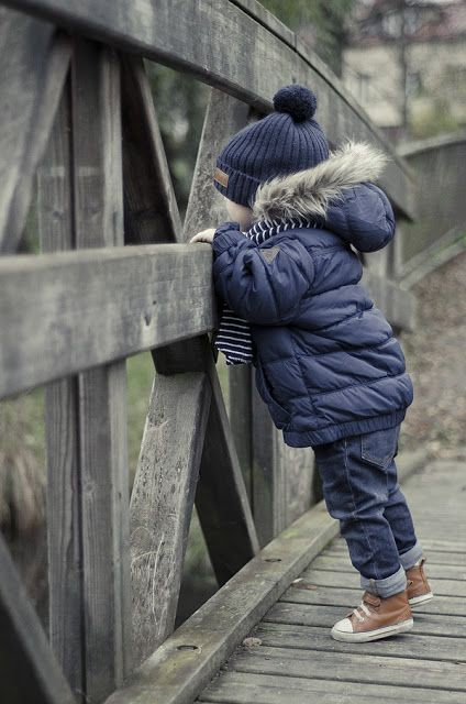 awesome (Kid fashion: baby boy style. Mode enfant bebe garcon) But I love the curiosity ...