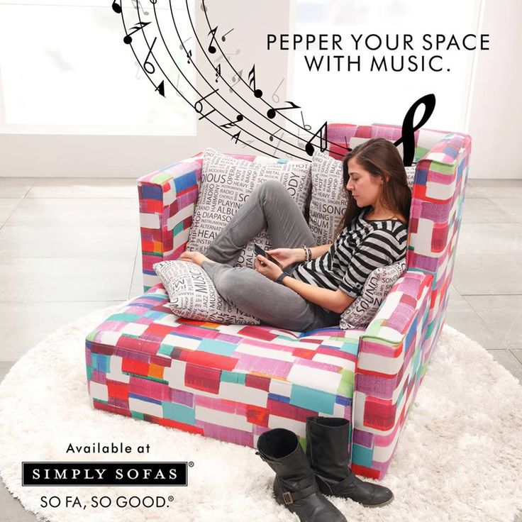 Fama MyClub Armchair. Distinctive shape. Innovative design. In-built speakers that makes music alive. Know more: http://simplysofas.in/product?product_id=175 ‪#‎sofas‬ ‪#‎SimplySofas‬
