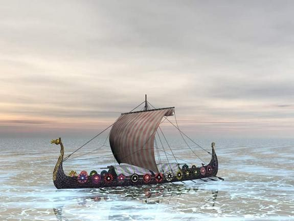 LiveScience: How Vikings Might Have Navigated on Cloudy Days, 03/02/2007. More recently than this article, new archaeological evidence has been found to support the sun stone theory.