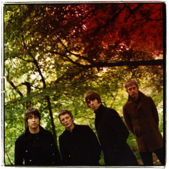 Gem Archer (far left-former guitarist for Oasis)Beady Eye