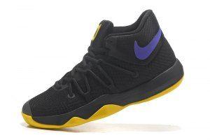 7483ade591bb Men s Nike KD Trey 5 IV EP All Star Black Yellow Purple boys Basketball  Shoes