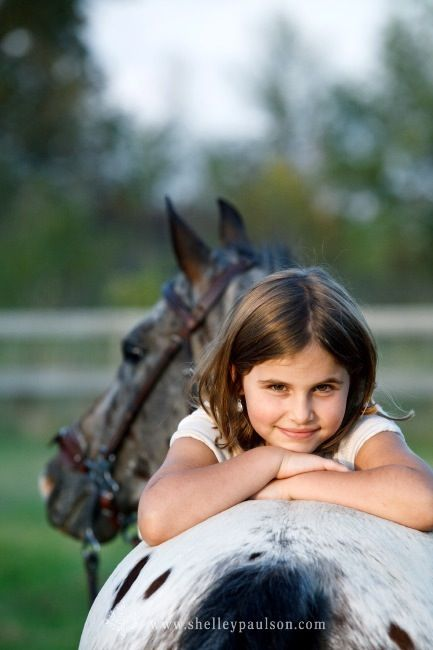 girls and their horses...an unbreakable bond<3