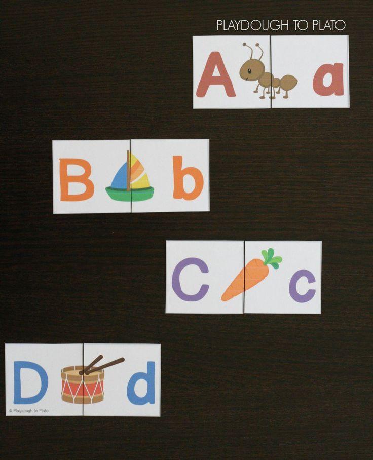 20 Alphabet Centers 48 best Letters images