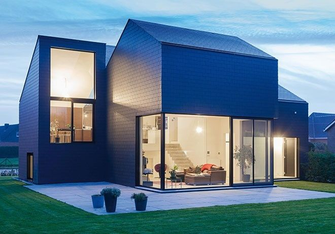 Fibre Cement Slate Cladding Can Provide A Smooth